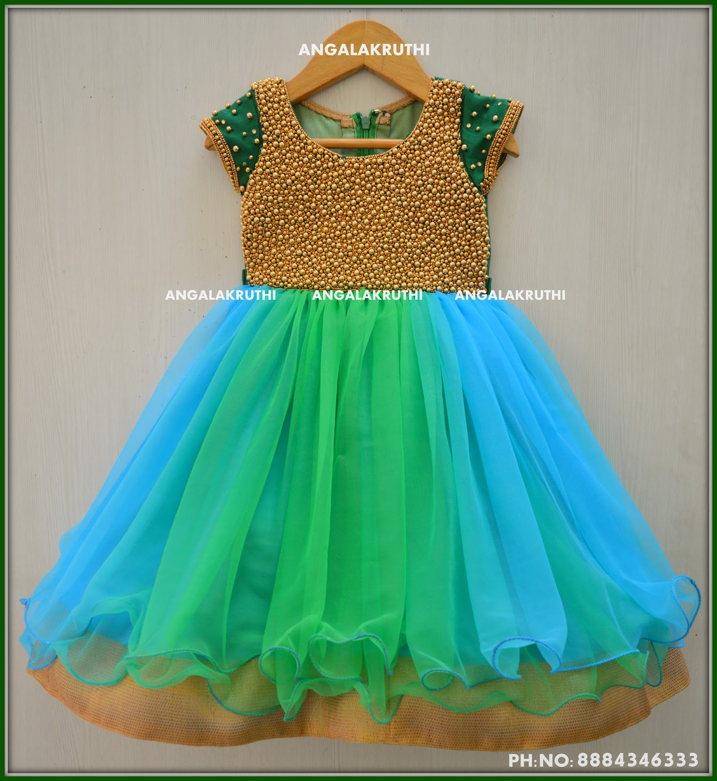 10fe65d6338 Kids Party wear - custom designs by Angalakruthi boutique bangalore ...