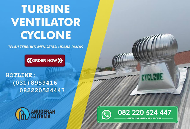 Harga Turbin ventilator cyclone