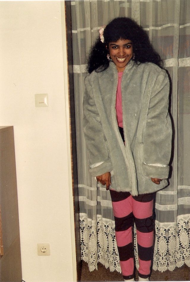 Leggings The Huge Fashion Trend Of Women In The 1980s Vintage