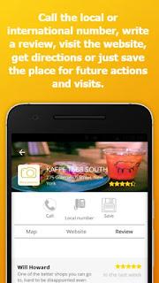 """تطبيق """" roboFinder """" لايجاد الاماكن حولك وحول العالم بسهولة"""