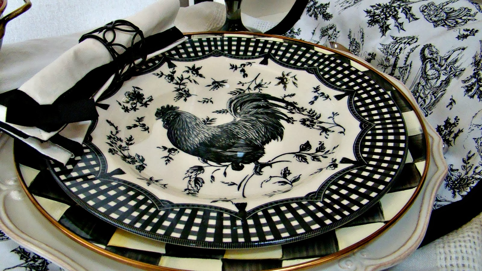 The Domestic Curator: CURRENT OBSESSIONS: Charger Plates & How To ...