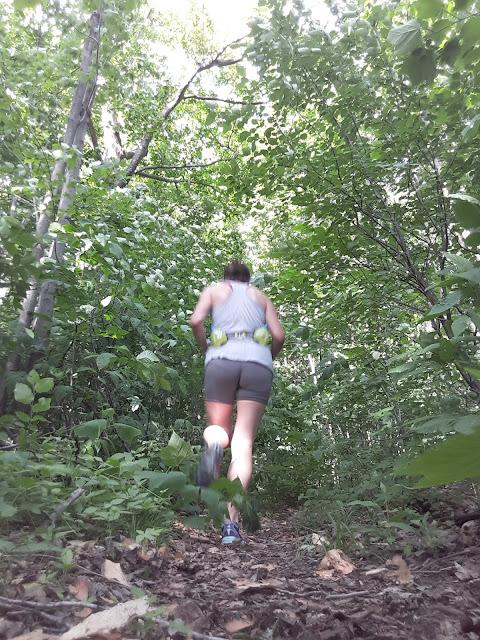 nature forêt course à pied activité physique