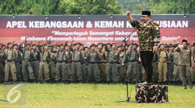 Kemarin Dukung Ahok dan Gelari Sunan Kalijodo, Sekarang GP Ansor Berharap Anies-Sandi Jadikan Jakarta Rumah Bersama