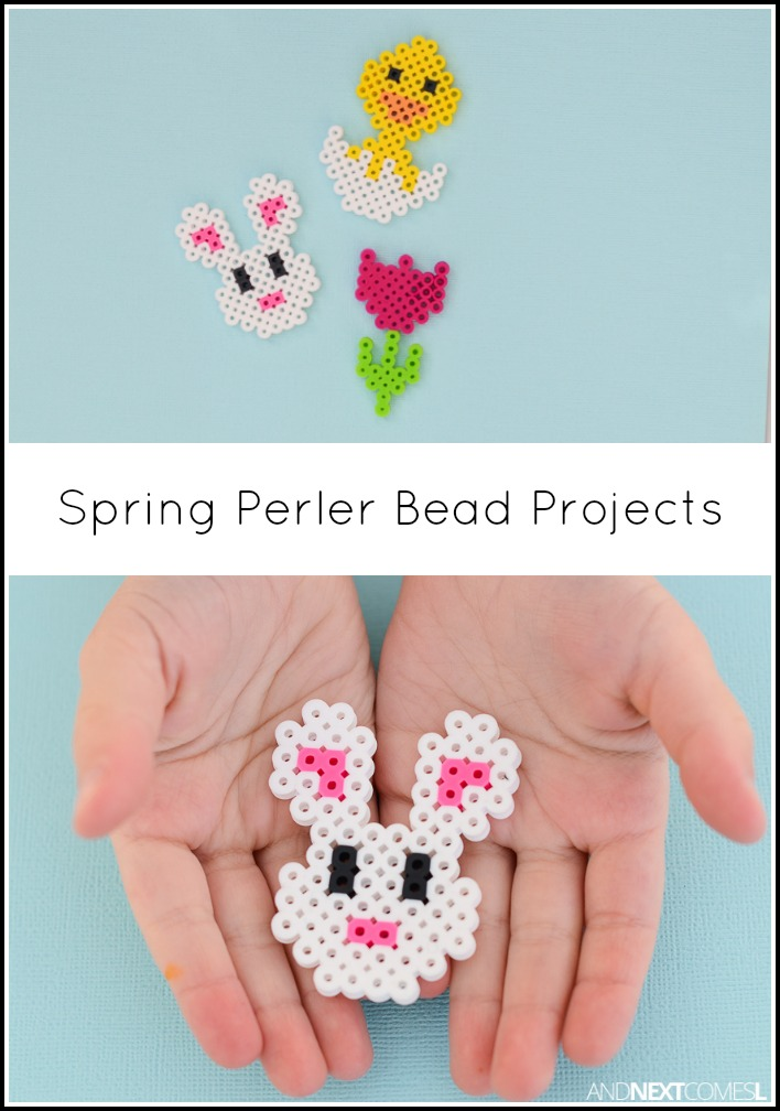 Chick Easter Perler Bead