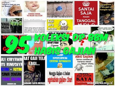 95 Koleksi DP BBM Habis Gajian