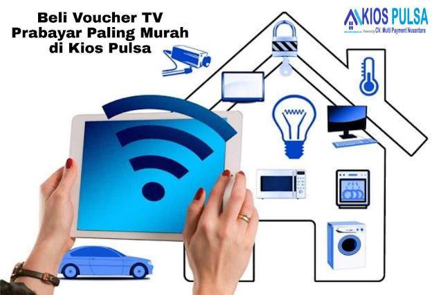 Beli Voucher TV Prabayar Paling Murah di Kios Pulsa