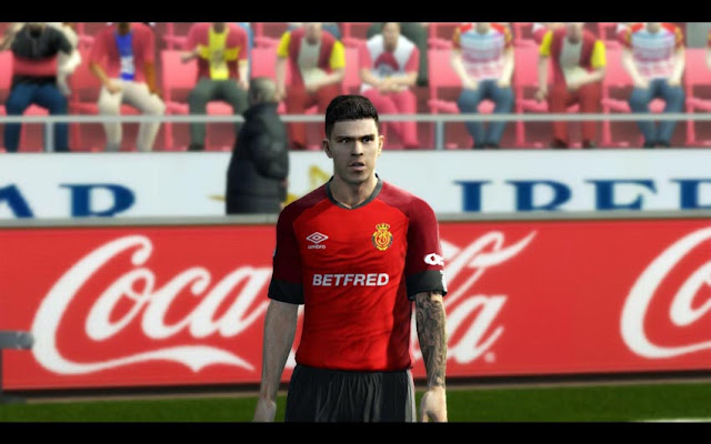 Cucho Hernández Face & Tattoos For PES 2013