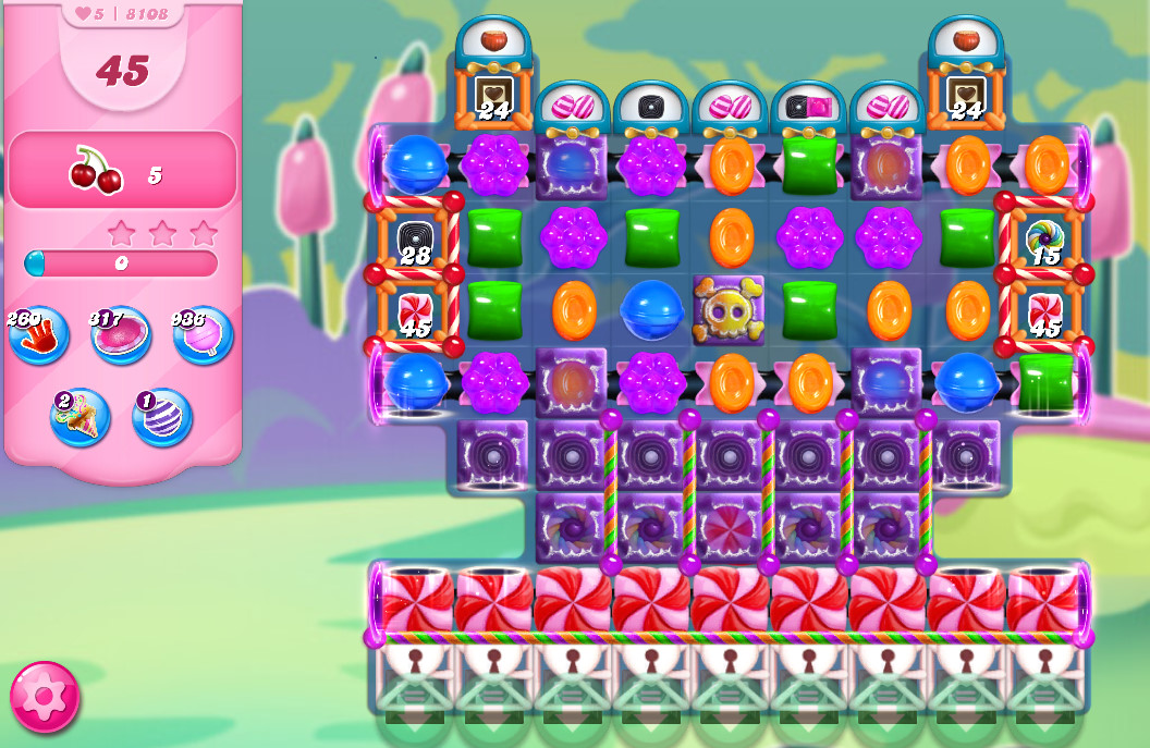 Candy Crush Saga level 8108