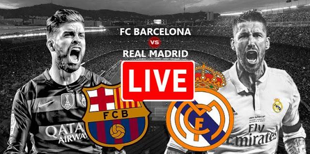 بث مباشر مباراة ريال مدريد ضد برشلونة