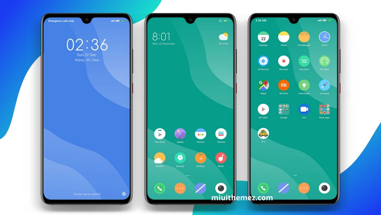 Simple and Most Elegant MIUI Theme | Flat Dual