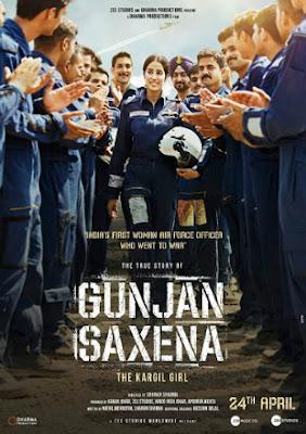 Gunjan Saxena: The Kargil Girl 2020 Full Movie Download HDRip 720p Dual Audio In Hindi English