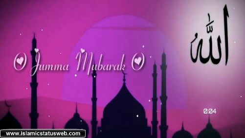 Jumma Mubarak Whatsapp Status - Islamic Status Videos