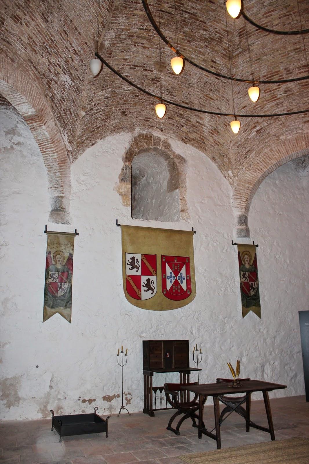 Interior de la Torre Homenaje del Castillo de Santa Catalina