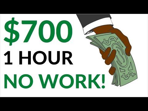 Earn $700 in 1 Hour on AUTOPILOT! (No Work!) - Make Money Online