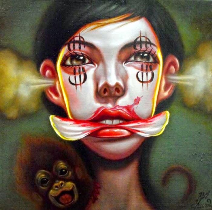 Современный корейский художник. Young Chun