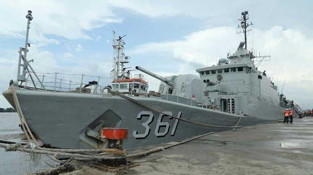 AS-China Panas, TNI Siagakan Empat Kapal Perang di Natuna