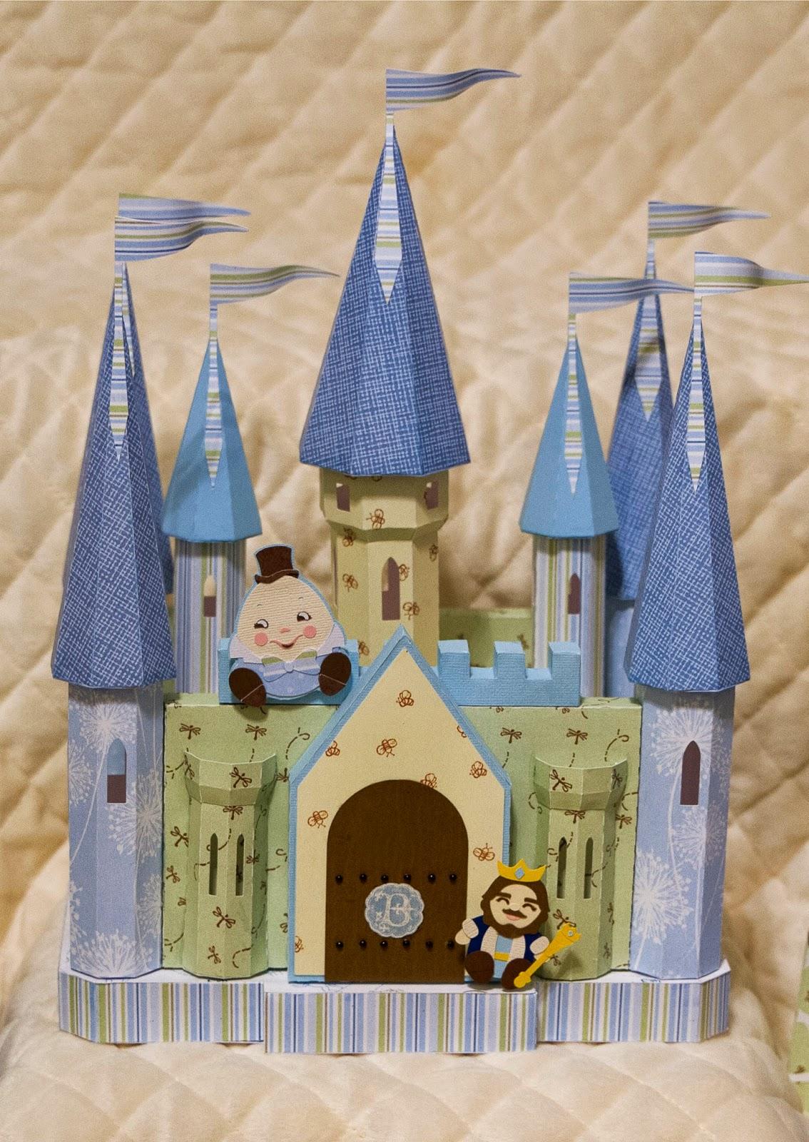 Castle gift box