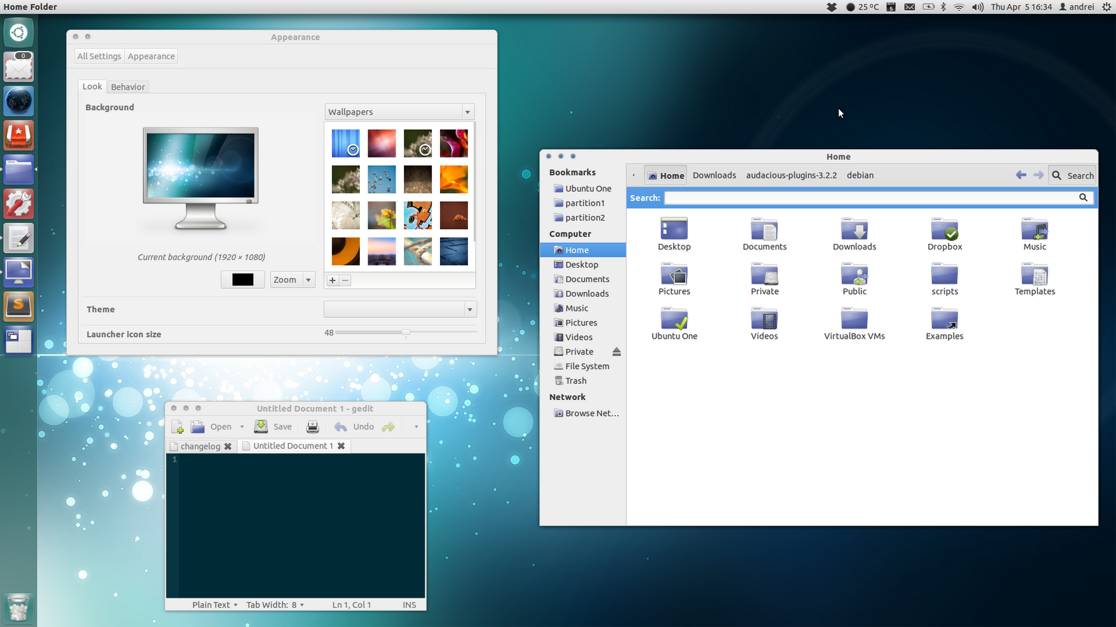 Orion GTK3 Theme Updated For GNOME 3 4 ~ Web Upd8: Ubuntu