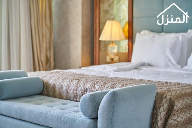 جعل غرفة النوم تشبة غرف نوم الفنادق
