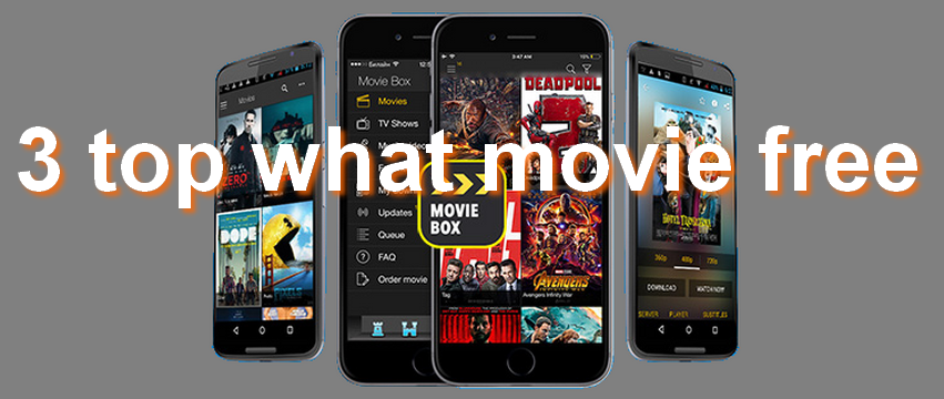 top 3 apps free watch movie fo iphone 2020
