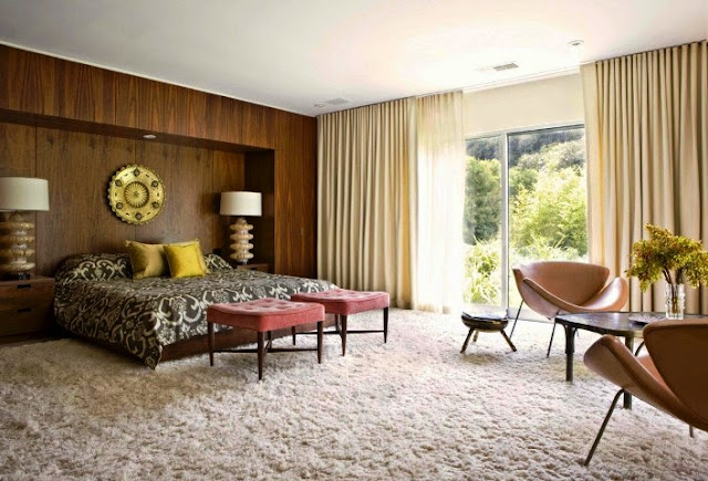 mid century modern interior paint ideas