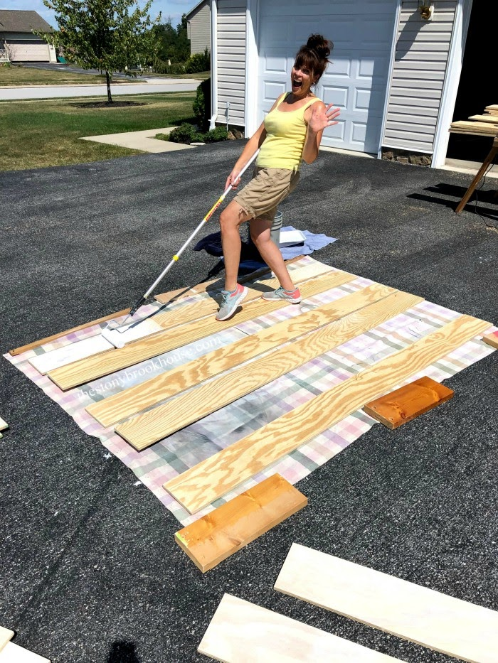 Painting Planks
