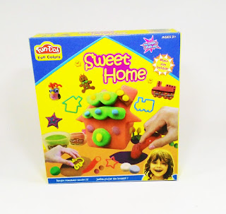 fun doh sweet home, mainan anak edukatif, lilin mainan, play doh