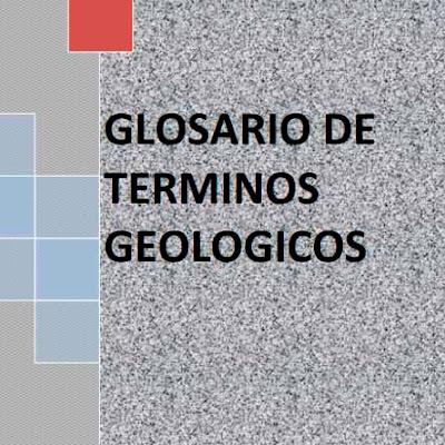 Glosario de términos geologicos