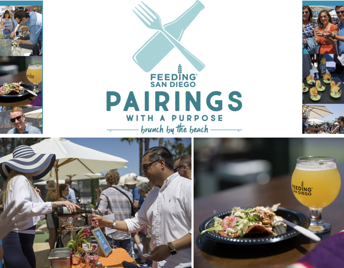 Don't Miss Feeding San Diego's Pairings With A Purpose Food Festival on April 13!