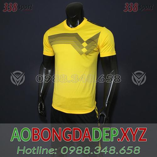 Áo Ko Logo Đức 2018 Màu Vàng Đẹp