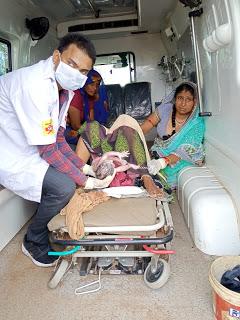 सफलता: 108 एम्बुलेंस में गूंजी किलकारी, ईएमटी ने कराई नार्मल डिलीवरी, बेटी को दिया जन्म | BAIRAD NEWS