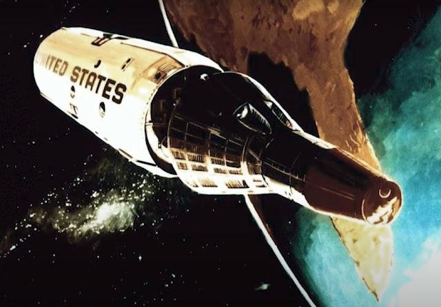 small spaceship concept art
