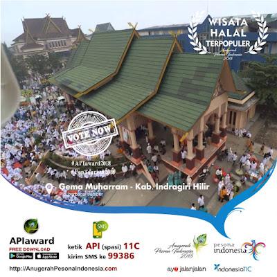 Wisata Halal Riau Gema Muharram Tembilahan Inhil