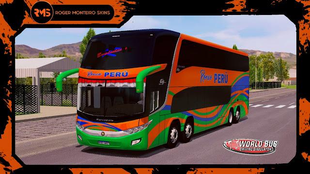 Transportes Ronco Perú, Skins World Bus Driving Simulator