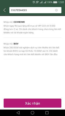 Kiếm tiền với ứng dụng momo nhận ngay 100K khi liên kết momo với tài khoản ngân hàng
