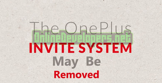 OnePlus One to stop Invite System  | OnlineDevelopers.Net