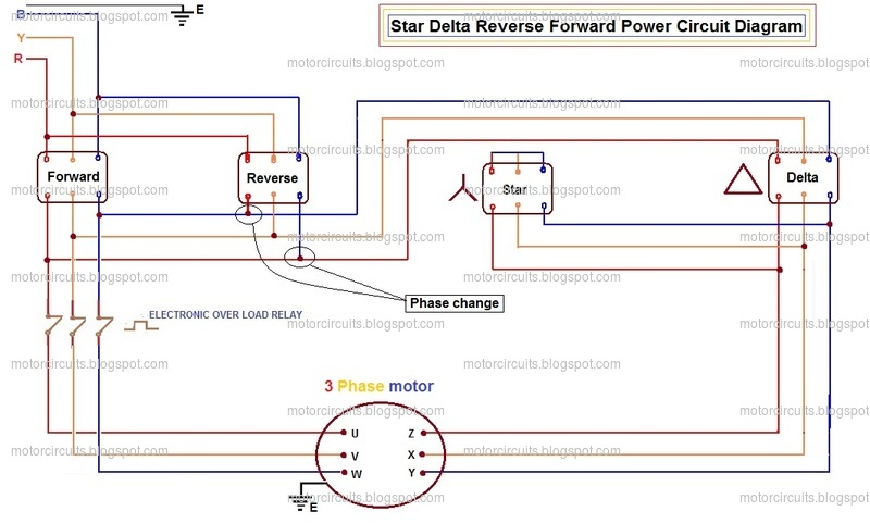 How Control Star Delta Reverse Forward Wiring Control