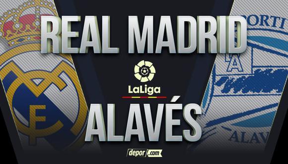 Real Madrid vs. Alavés EN VIVO: guía de canales TV y horarios por la fecha 1 de LaLiga