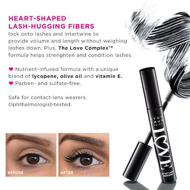 Avon Catalog - Free Avon True Color Love at 1st Lash Mascara