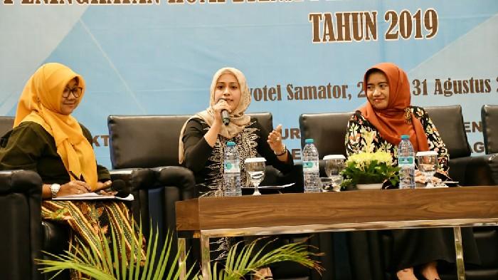 Didaulat Jadi Narasumber di Obras Bunda Paud di Surabaya, Andi Nurhilda Beberkan Perkembangan PAUD di Sinjai