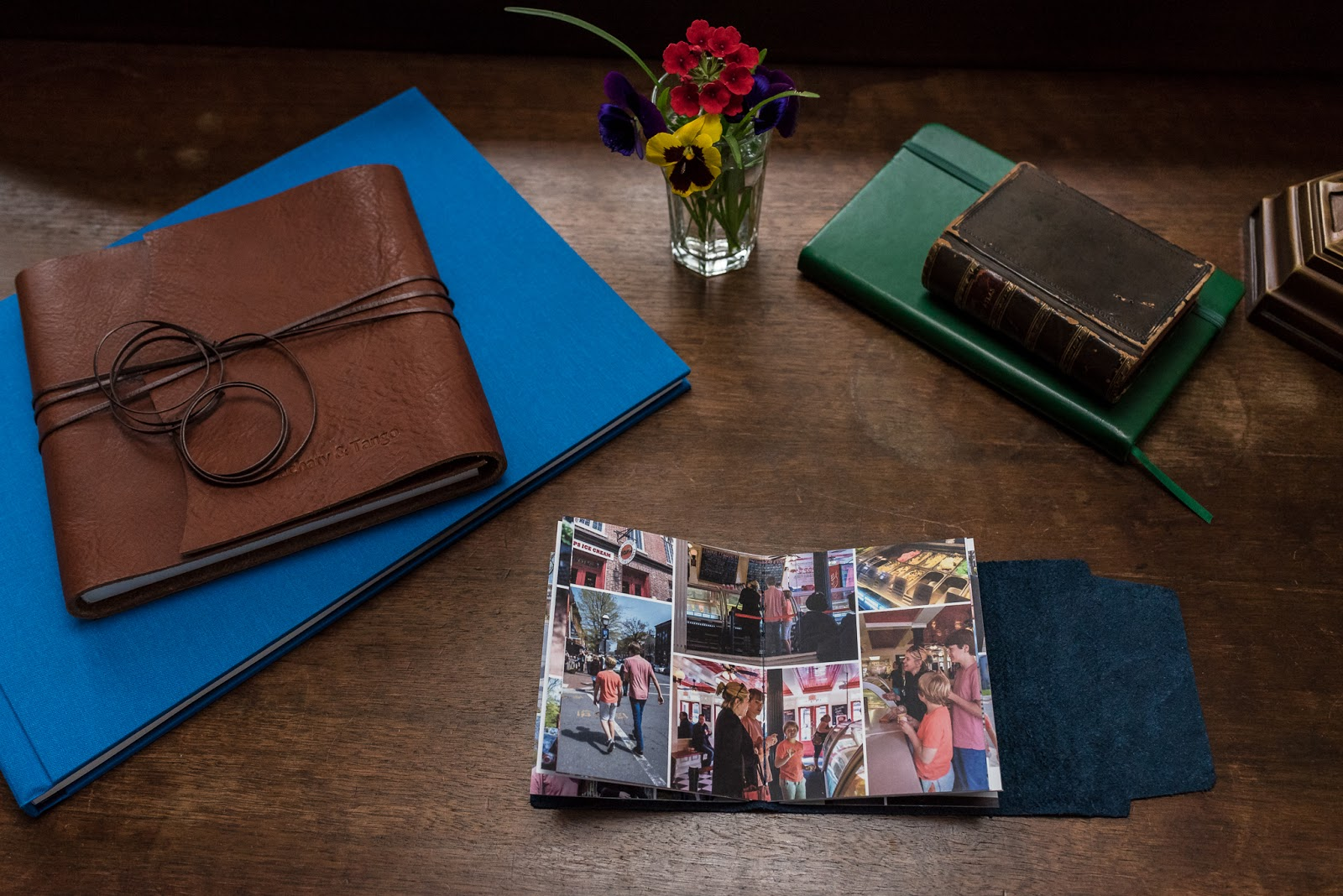 Mini-album from Afternoon in the Life session in Old Town Alexandria from Diana Sherblom Photography