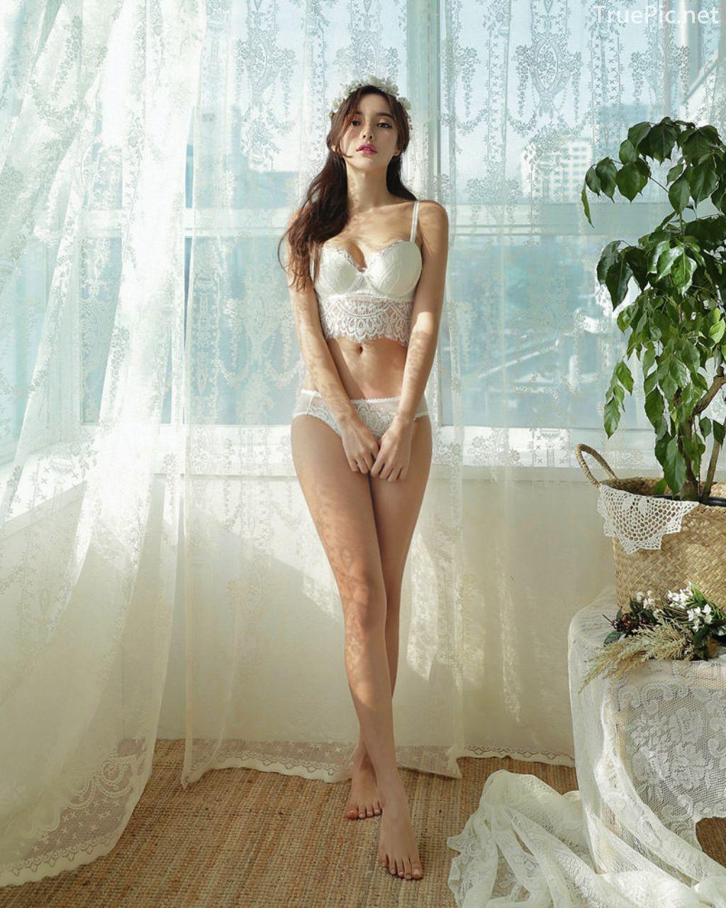 Korean Fashion Model - Jin Hee - Lovely Soft Lace Lingerie - TruePic.net - Picture 8
