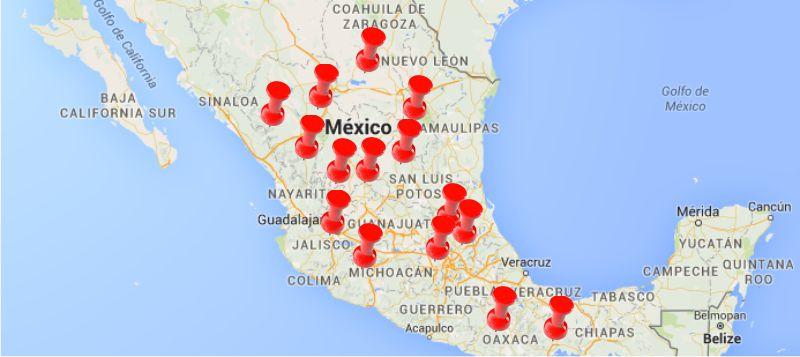 mapeo de actores stakeholders méxico publicidad web méxico