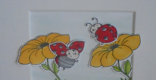 Craftyduckydoodah!, Little Ladybug, Stamp 'N Hop March 2020, Supplies available 24/7 from my online store, Susan Simpson UK Independent Stampin' Up! Demonstrator