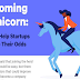 Unicorn Startups by Industry and Lessons from the $1B+ Club #infographic