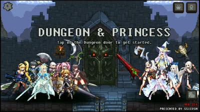 Sebuah game premium yang saya temukan dengan gameplay yang menarik Game:  Dungeon Princess apk