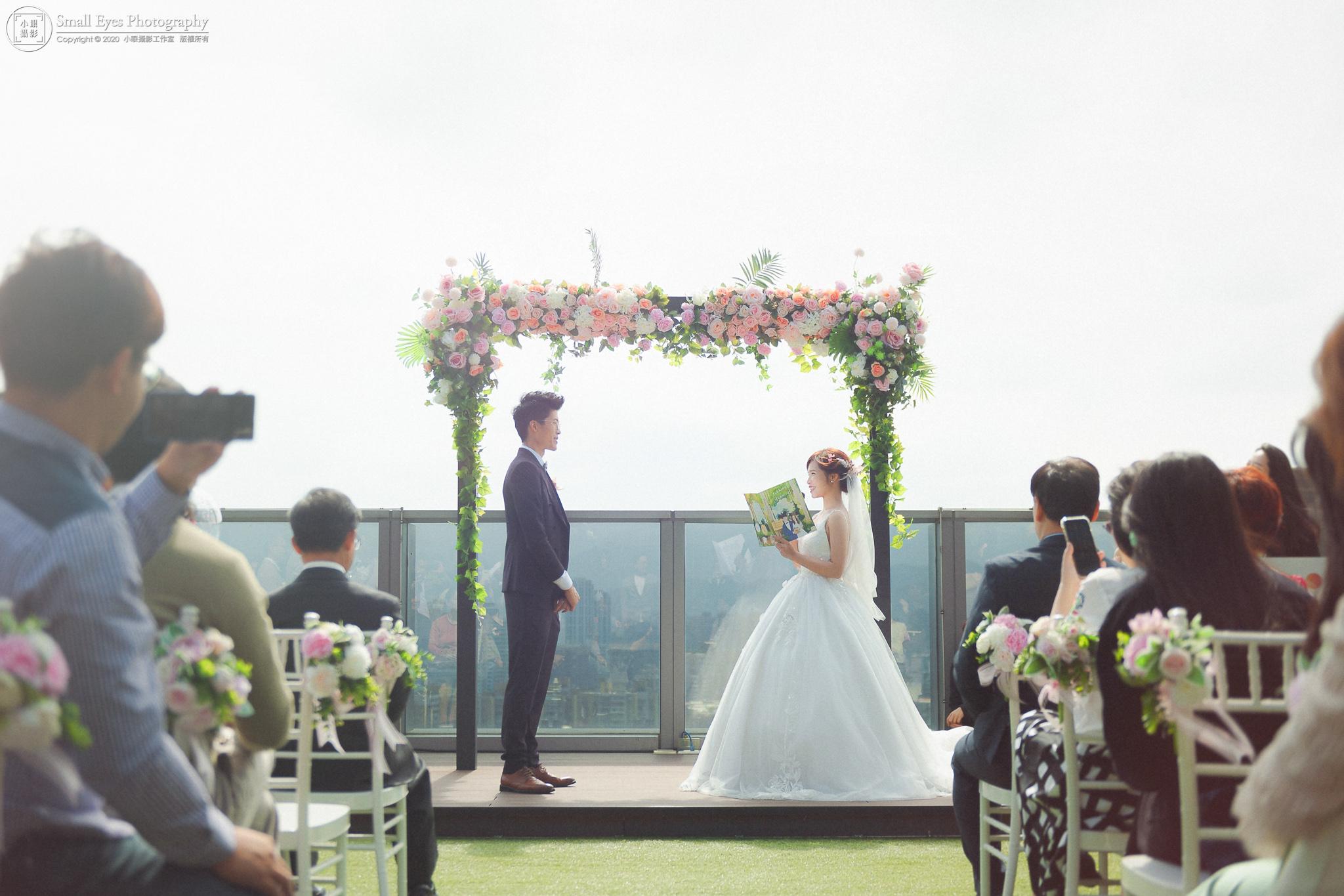 小眼攝影,傅祐承,婚禮攝影,婚攝,婚禮紀實,婚禮紀錄,貳月婚紗,新秘瓜瓜,迎娶,證婚,台北,格萊天漾,誓詞