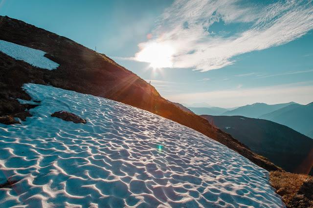 Sonnenaufgangswanderung auf den Saalkogel  Saalbach-Hinterglemm 04