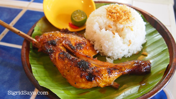 Bacolod chicken inasal - Bacolod restaurants - Chicken House - Bacolod City - paa and garlic rice - Ilonggo food - Bacolod blogger