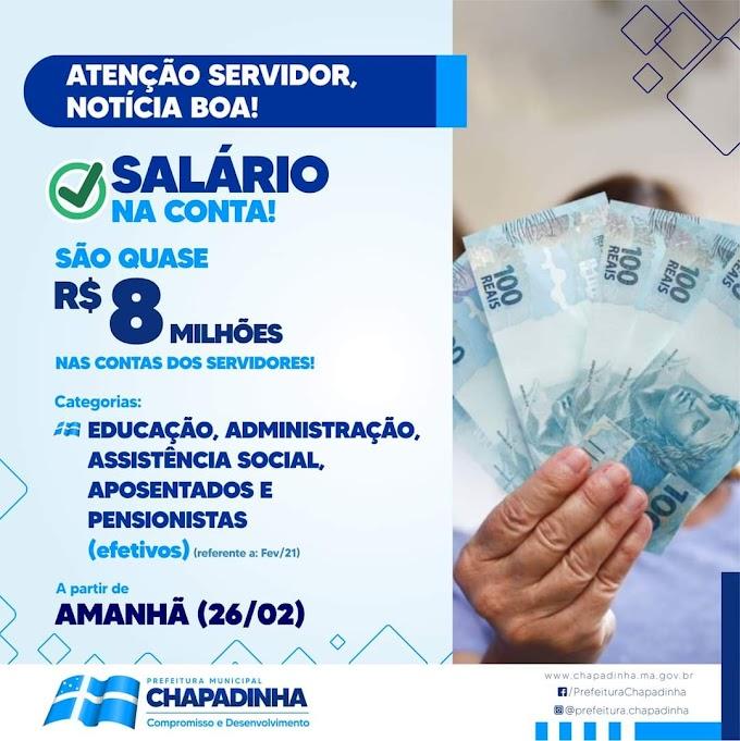 PREFEITA BELEZINHA ANUNCIA PAGAMENTO DE SERVIDORES PARA ESTA SEXTA-FEIRA(26/02)